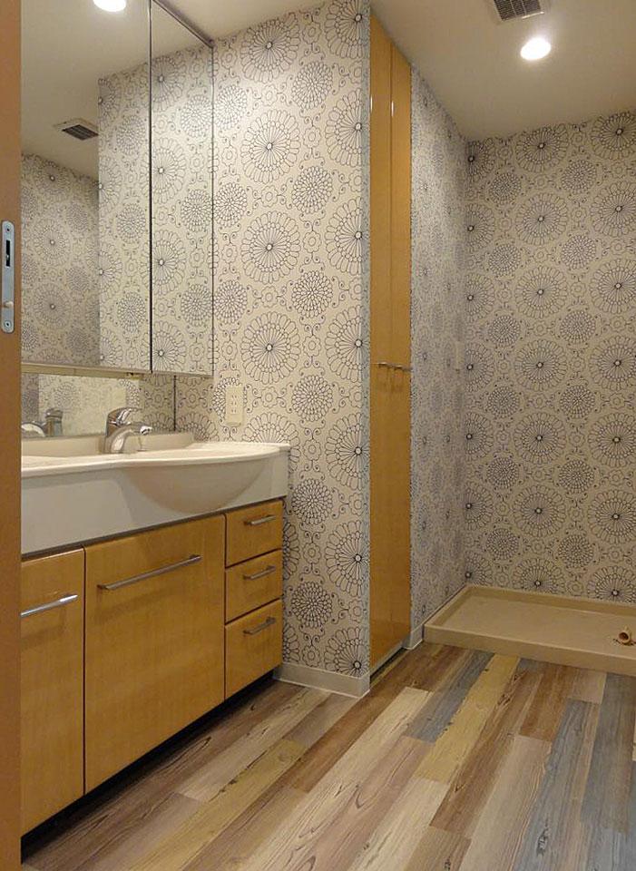 中古マンションの洗面室リフォーム