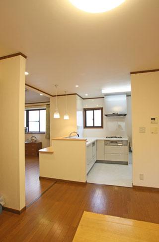 2×4ツーバーフォー住宅のリフォーム事例