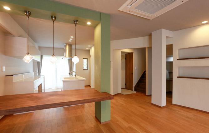S造二世帯住宅リノベーション