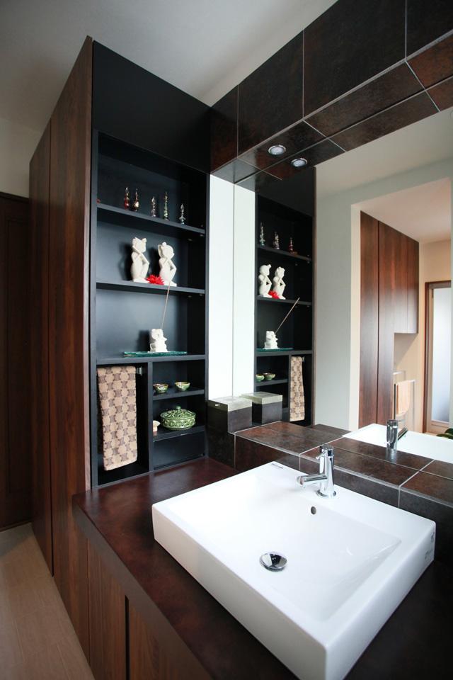 洗面室のリフォーム事例