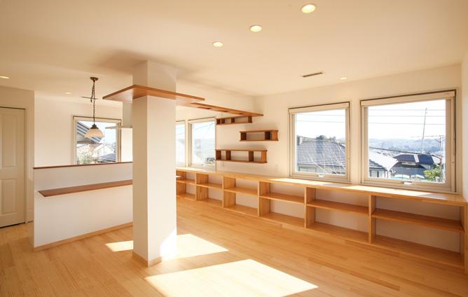 2×4ツーバイフォー二世帯住宅のリノベーション事例