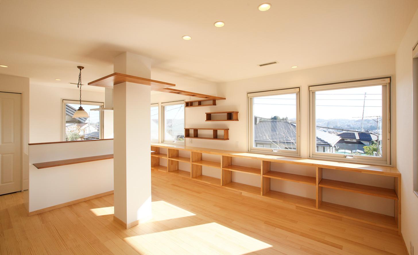 2×4スウェーデンハウスの二世帯住宅リノベーション