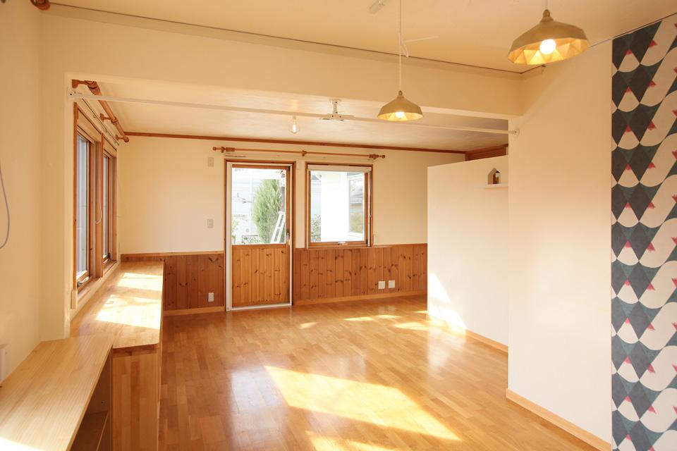 2×4ツーバイフォー二世帯住宅のリノベーション