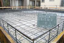 基礎工事の写真